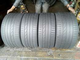 X5 tyres for sell 315/35/20 and 275/40/20