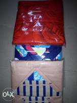 4 pillows case x 1 bed sheet polished quality beddings.