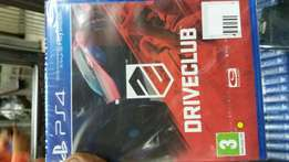 Driveclub ps4 game