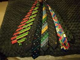 Limited edition sports ties