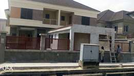 Newly Built 2 Nos of 4 Bedroom Semi Detached Duplex with a room bq.