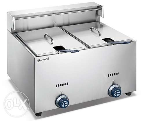 Electric fryer double and single
