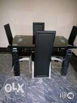 Tempered glass dining table by 4