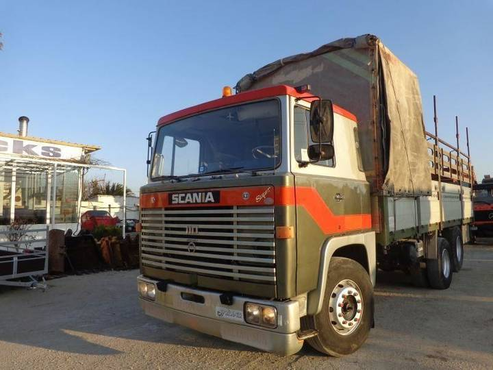 Scania VABIS LBS 110 SUPER (6X2) - 1969