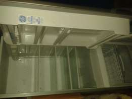 Defy silver fridge still in excellent condition for sale