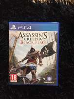 PS4 game assassin creed black flag