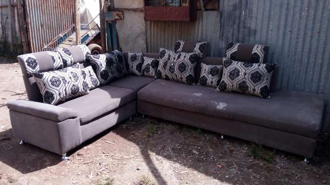 Wall to wall 7seater sofa Kasarani - image 1