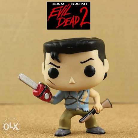 The evil dead 2 ash with saw imperfect action funko pop figure