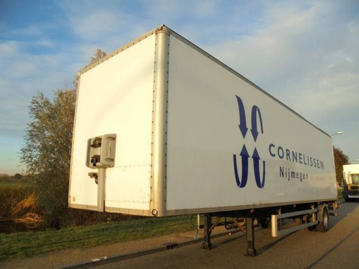 Frühauf 1-Axle City / Steering Axle / BPW / Loading PLatform / NL - 2003