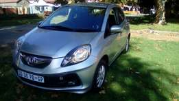 2015 lovely Honda Brio, only 28 000 km R 105 000