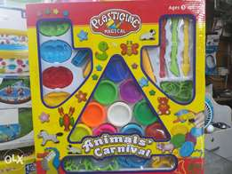 Plasticine dough for kids