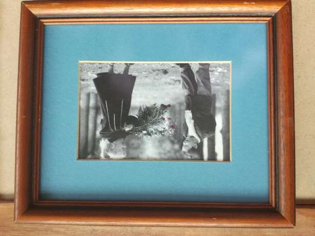 Frame With Glass & Classic Boy And Girl Pictures With Blue Background Kempton Park - image 7
