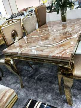 Marble Dining Table With 6 Chairs Unbeatable Price