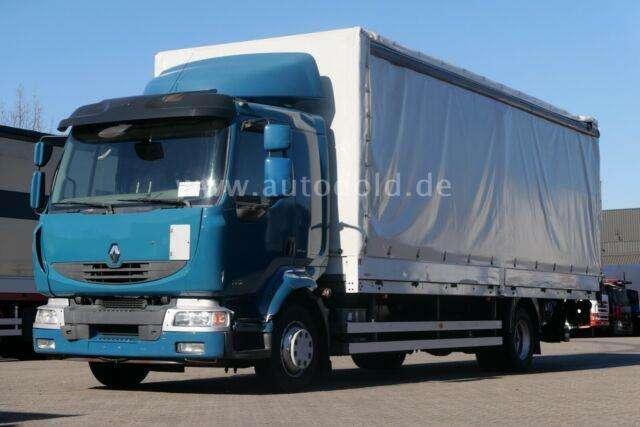 Renault Midlum 220 Dxi Lbw Pritsche Plane Lbw Euro 5 - 2011