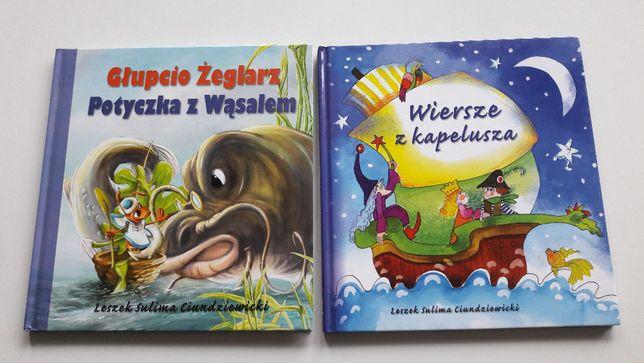 2 Książki Wiersze Z Kapelusza Oraz Głupcio żeglarz