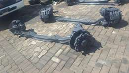 Mercedes Axor and atego front steering axles complete