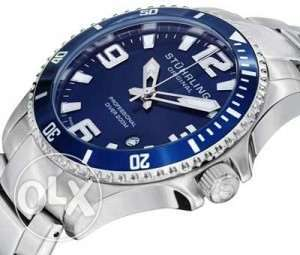 Stuhrling Original Men's 395.33U16 Aquadiver Regatta Analog Swiss Quar مصر الجديدة -  5
