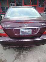 American neatly used 4matic E350 for sale at afffordable price,