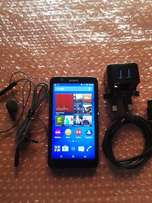 Sony Xperia E4 (12.72h 3G talk time) with Accessories