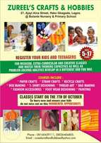 Crafts Classes For Kids and Teenagers