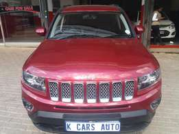 2014 Jeep Compass 2.0 Limited Edition 56000km with Reverse Camera