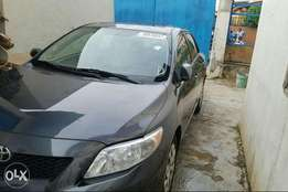 Clean Tokunbo Toyota corolla 2009 accident free, first body