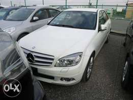 Mercedes Benz C200 Kompressor 2010 Model Automatic White Color KCN