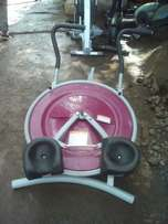 Ab circle pro and other gym equipment