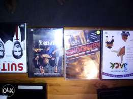 Games cd's and dvd's