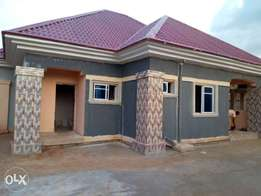 A newly built 3bedroom bungalow for sale at trans ekulu for N16m.