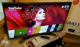 New LG 49inch Smart 4K TV -pay on delivery. has free to air channels