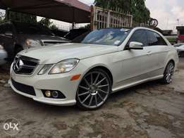 Mercedes Benz E350 fully loaded