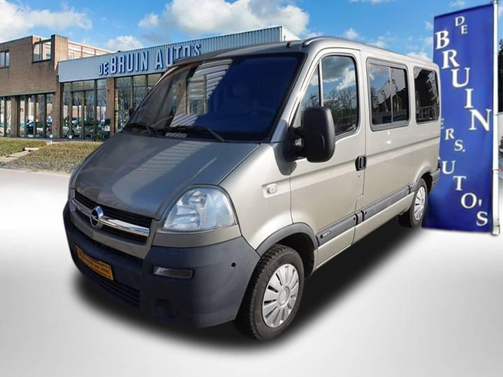 Opel Movano 2.5 CDTI Rolstoel vervoer Rolstoelbus Zelfrijder A... - 2008