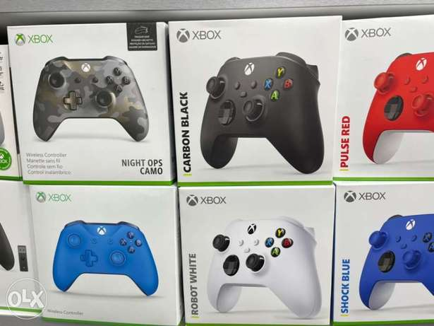 Xbox Series X and Xbox One Controllers (New!)