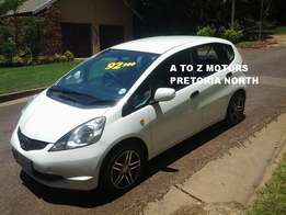 2009 Honda Jazz 1.4 i LX Hatchback with the following km's: 150547