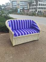 Papyrus two seater sofa. Self made