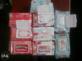 Baby Wipes. Non-scented and alcohol free. 100pcs.