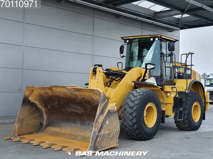 Caterpillar 950K German dealer machine - weight system - 2014