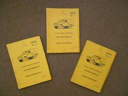 Workshop repair manuals (set of 3) for Land Rover Series III S