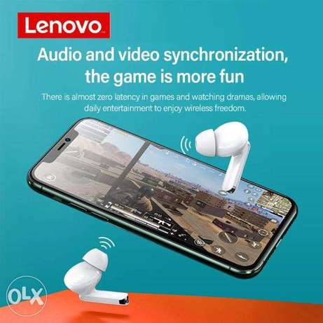 Lenovo Wireless Earphone XT90 TWS Bluetooth 5.0 Touch Button 300mAh الرياض -  2