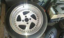 "15"" wides with two tyres"
