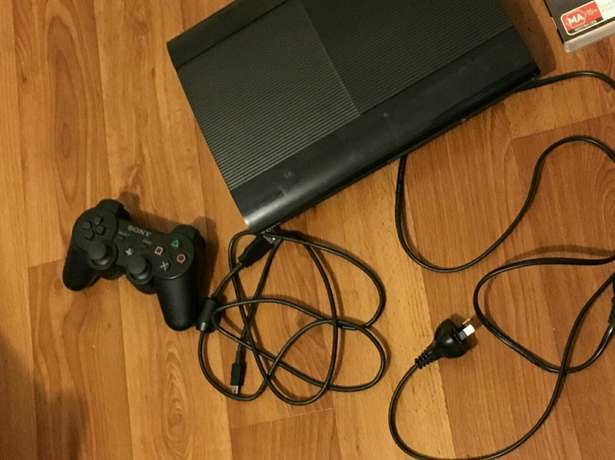 Sony ps3 super slim console still as brand new includes all cables 1 w Mayfair - image 1