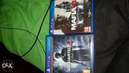 Ps4 mafia 3 and uncharted 4 good condition