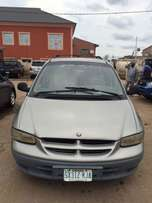 Super clean Nigeria used Chrysler Grand voyager LE 2001 model.