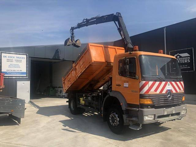 Mercedes-Benz ATEGO 1923 KIPPER + HIAB 088 BJ2008 - 1999