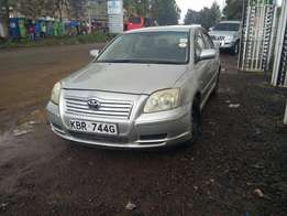Toyota Avensis kBR well maintained