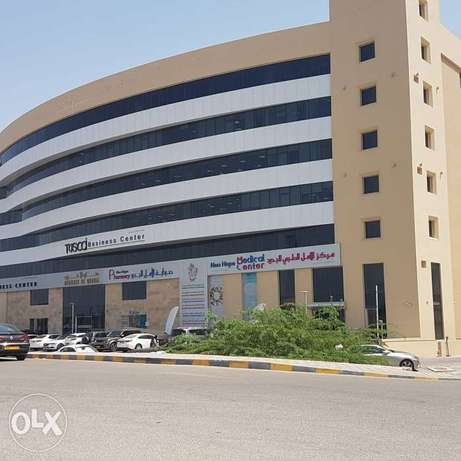 Offices for rent a alqurm opposite city center
