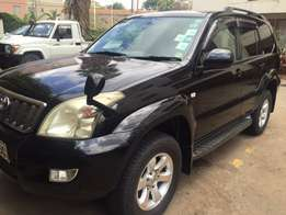 Prado Black in colour with Sunroof