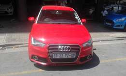 Audi A1 1.8T sport DSG red in color 2008 model 82000km R159000