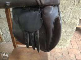 Jorge Canaves Leather All Purpose Saddle for sale